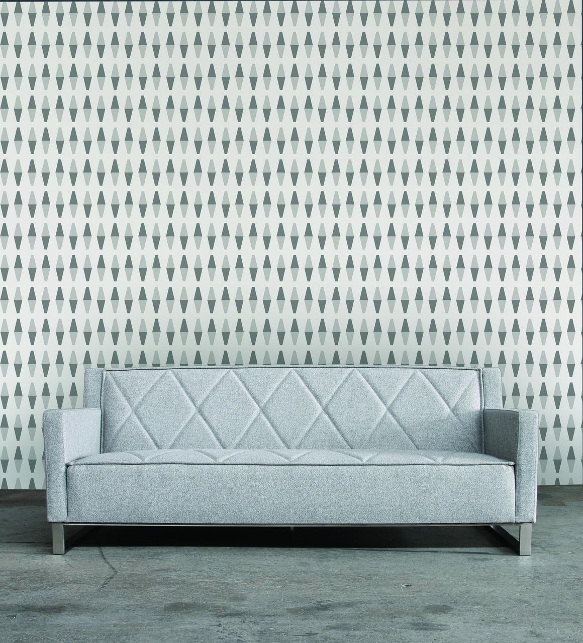 Interior Place Retrogeo Greyscale RE405 Wallpaper, 62