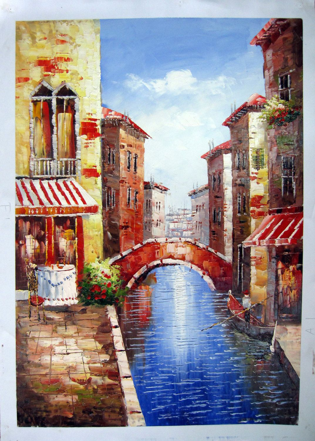 24 by 36 venice scene nr016 museum quality oil