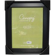 Canopy 11x14 Beveled Picture Frame, Black