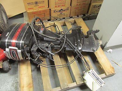 35 HP MERCURY OUTBOARD ENGINE MOTOR w/ ALL CONTROLS BOAT