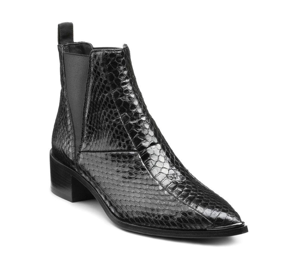 Acne Studios Jensen snake black Snake boots