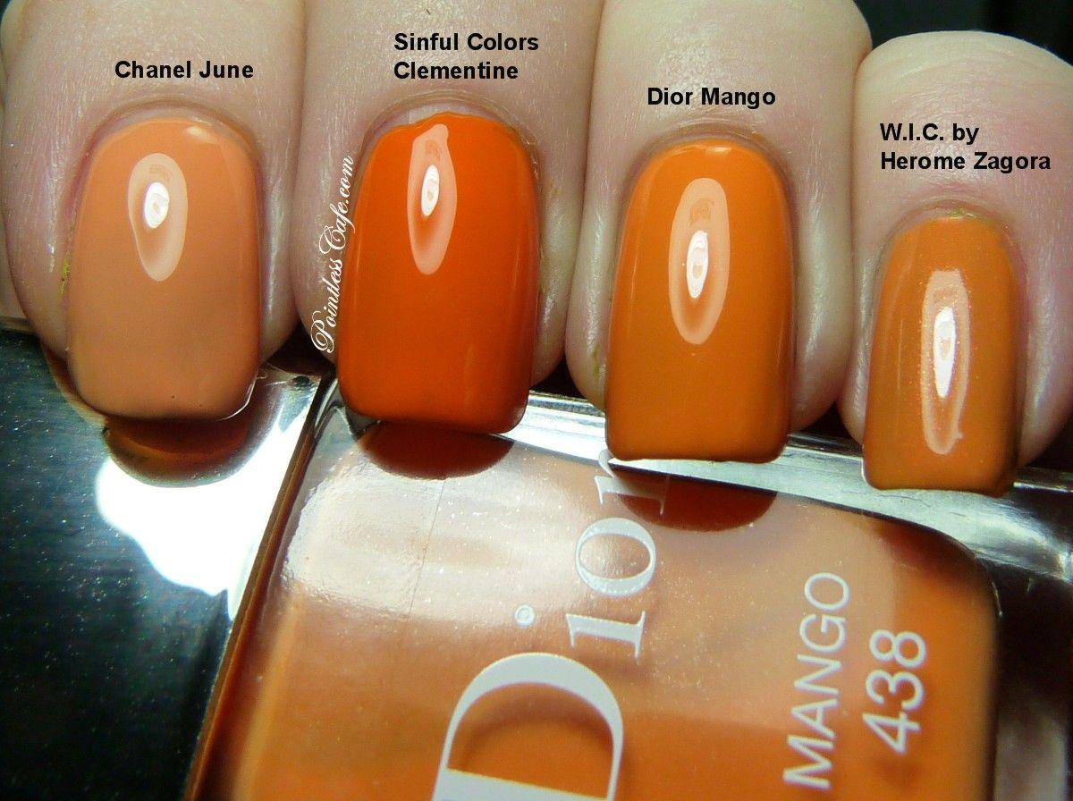 dior mango nail polish - Google Search | NAILS | Pinterest