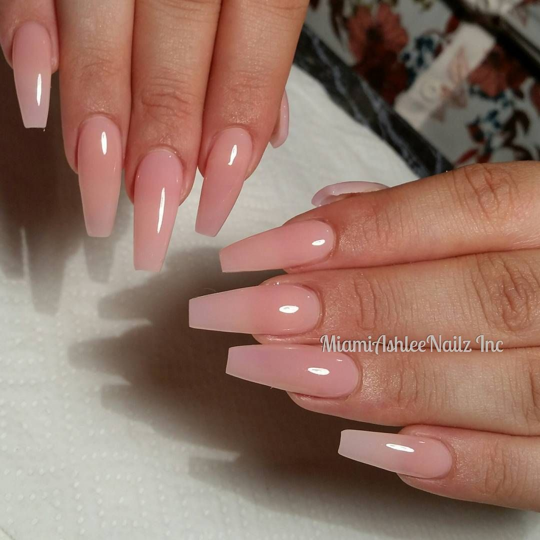 Nails Nails And More Nails Check Out Designernailproducts For The Hottest Nails Art Goodies Visi Pink Clear Nails Clear Pink Acrylic Nails Pink Acrylic Nails