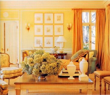 Color Of The Month Yellow Yellow Walls Monochromatic Room Decor