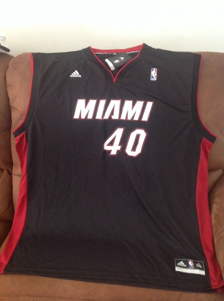 more photos 6fc0f b8f5c Adidas Miami heat udonis haslem #40 basketball jersey NWT ...