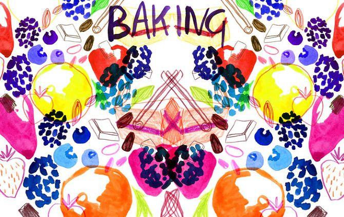 Cookbook - Louise Byrnes Illustration