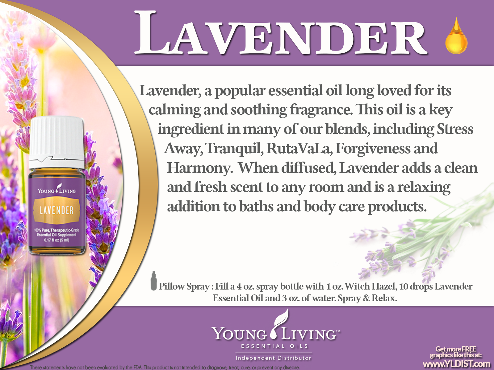 Lavender Oil Is Primary Used To Relax It S Also