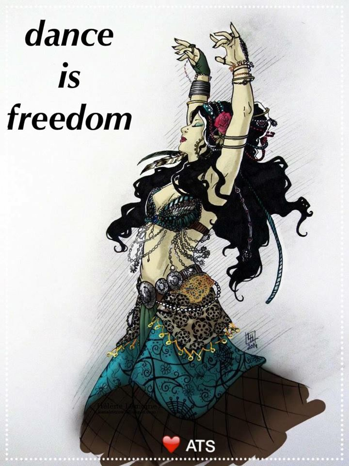 Dance is Freedom | Dance, Belly dance, Tribal fusion