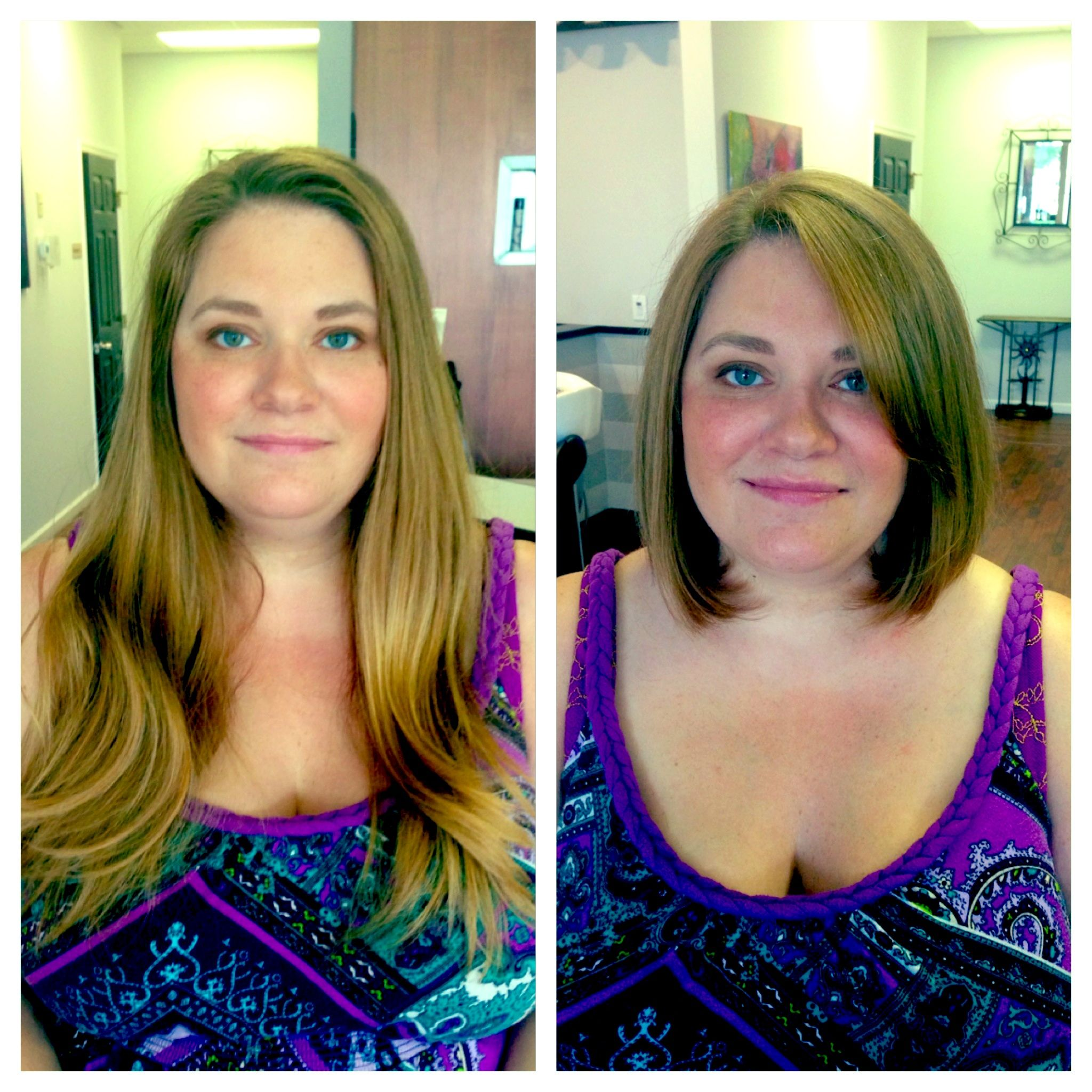 long to short! haircut before and after. | haircuts and