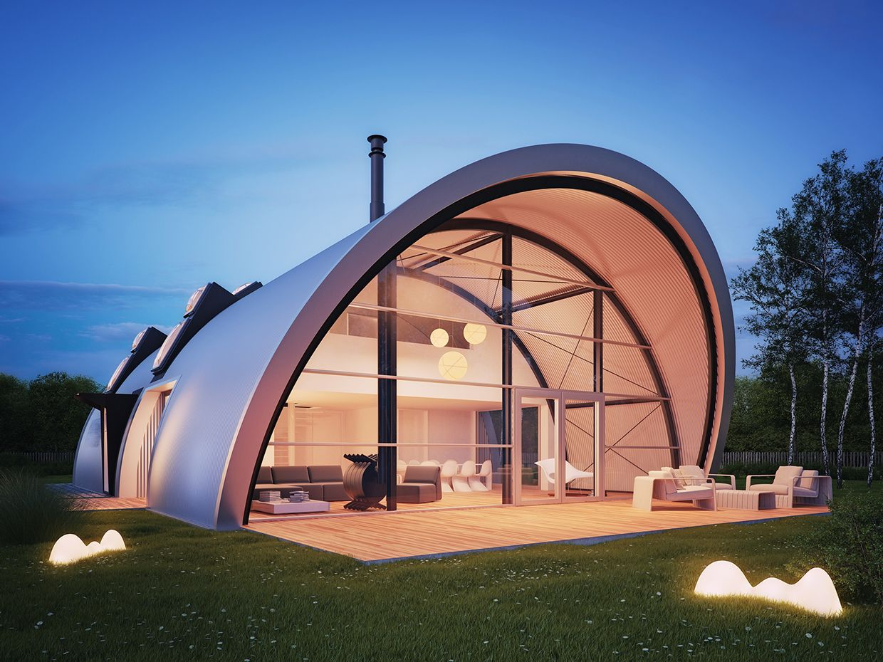 27 Unique Quonset Hut Homes For Wonderful Living Atmosphere ...