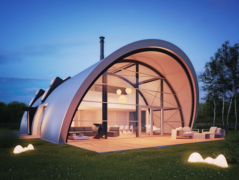 More Ideas Modern Quonset Hut Homes Etc Quonset Hut