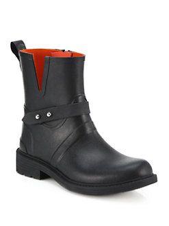 Rag & Bone - Moto Rain Boots