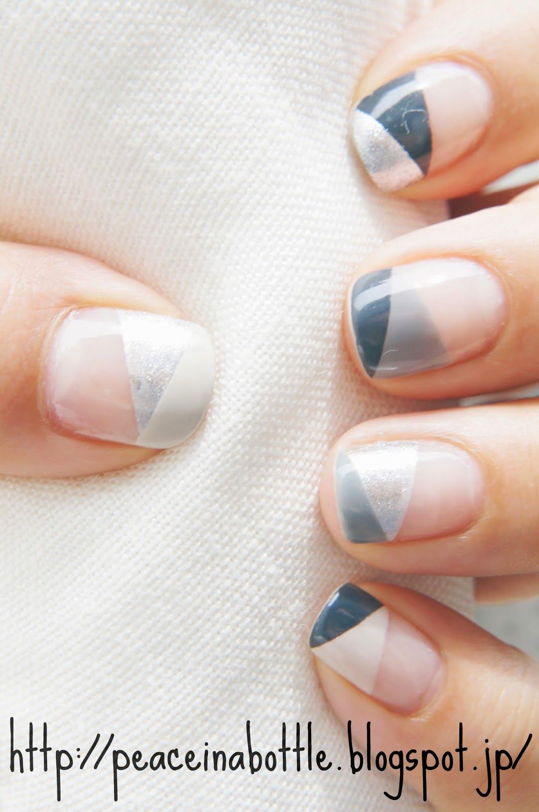 m o n o - c h r o m i u m | Gray nails, Gray and Manicure