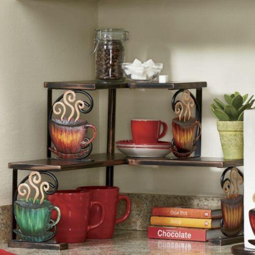 Kitchen Corner Shelf Decorating Ideas: Coffee Corner Shelf From Seventh Avenue ®