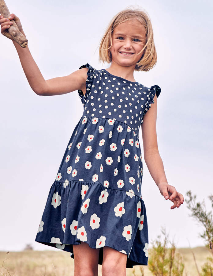 8f8259bce631a Boden Tiered Jersey Dress | Products in 2019 | Dresses, Winter ...