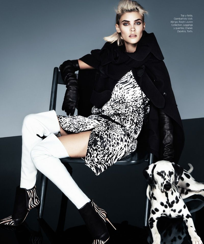 Alison Nix Channels Cruella de Vil for Harpers Bazaar Latin America by Jason Kim