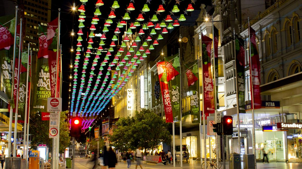 Desktop City Of Melbourne Xmas Christmas Town Christmas Christmas Decorations