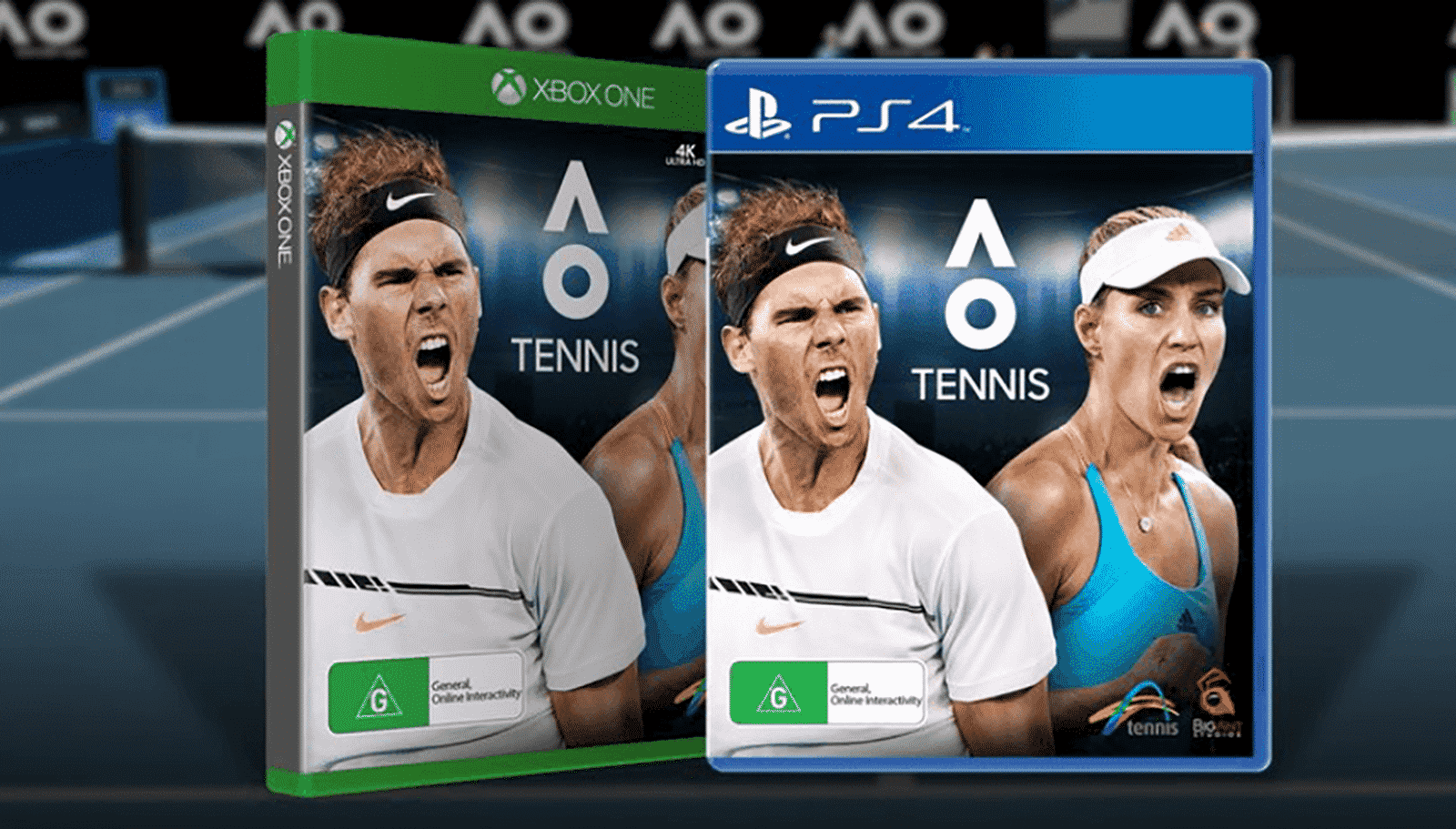 Ao Tennis Releases January 16 On Xbox One And Ps4 Sports Gamers Online Ps4 Or Xbox One Tennis Super Mario Run