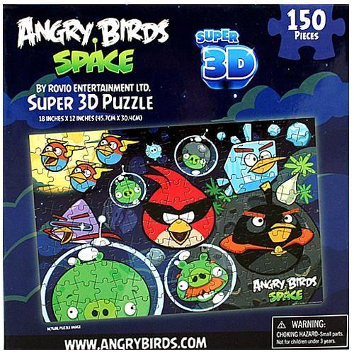 Angry birds space super 3d puzzle 150 pieces 3d puzzles angry angry birds space super 3d puzzle 150 pieces voltagebd Images