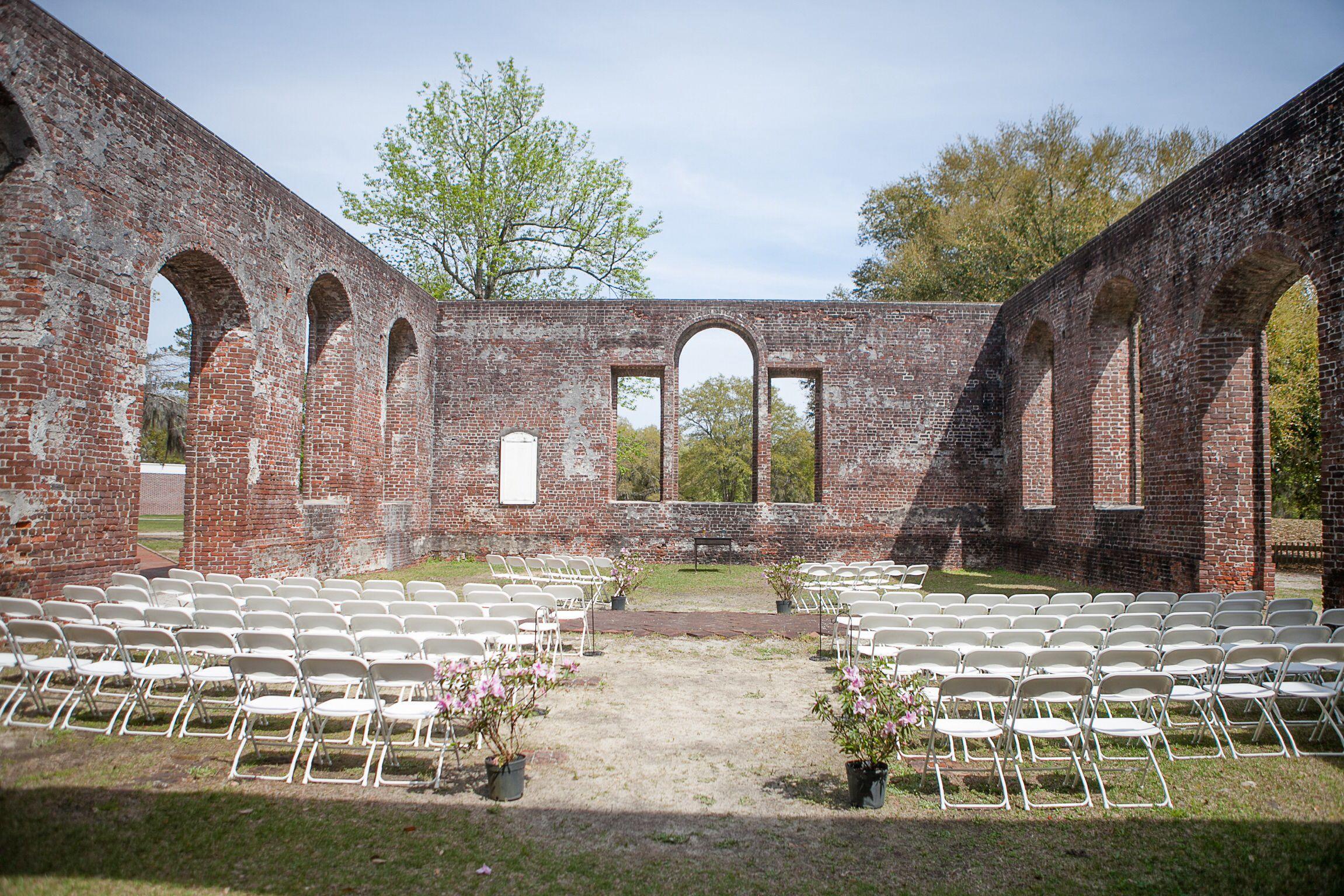 Brunswick Town Historic Site Near Wilmington Nc Our Vintage Wedding Wilmington Nc Wedding