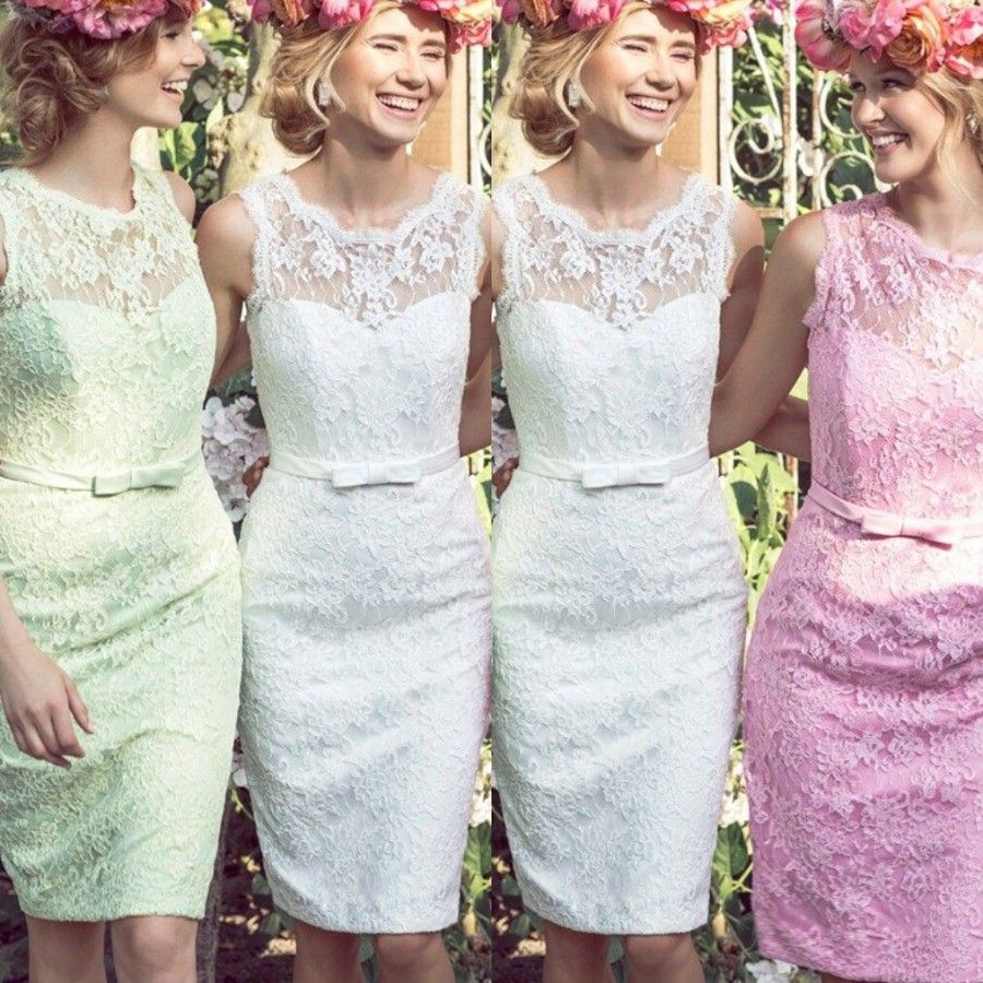 Find more bridesmaid dresses information about new 2016 lace short find more bridesmaid dresses information about new 2016 lace short bridesmaid dresses junior bridesmaid gowns wedding party dress pink white light green ombrellifo Gallery