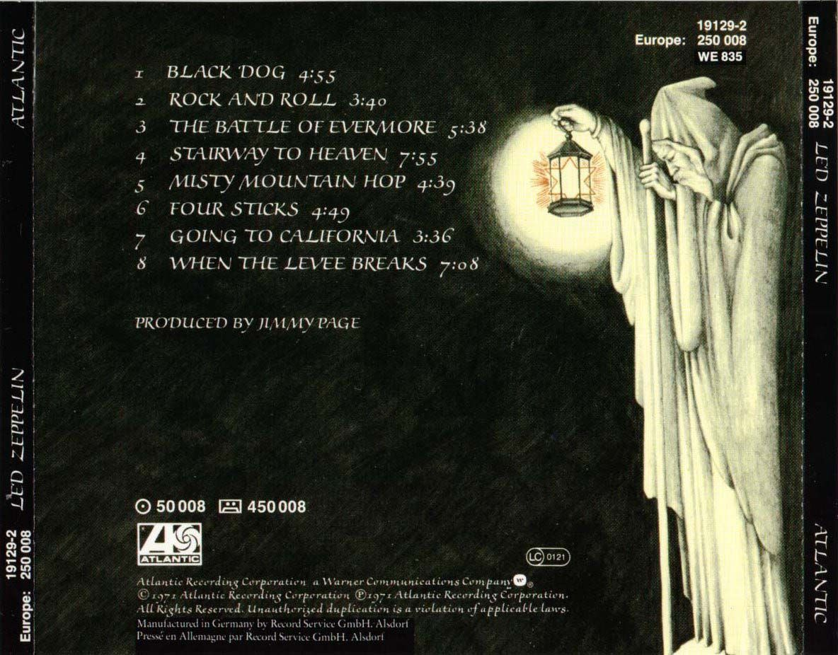 Image Detail For Led Zeppelin Iv Untitled Discography Lyrics Covers Fonts Led Zeppelin Album Covers Led Zeppelin Iv Led Zeppelin