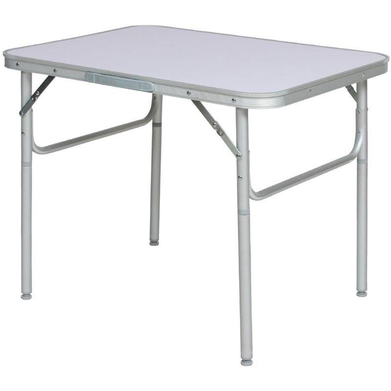 Table De Camping Jardin Pique Nique Aluminium Pliante 75x55