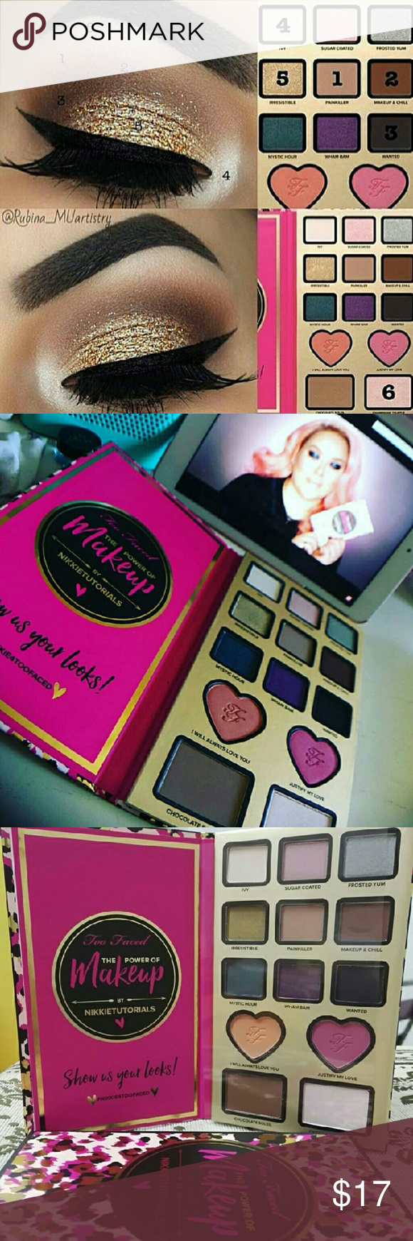 Too Faced Nikkie Tutorials Eyeshadow Pallete Too Faced The