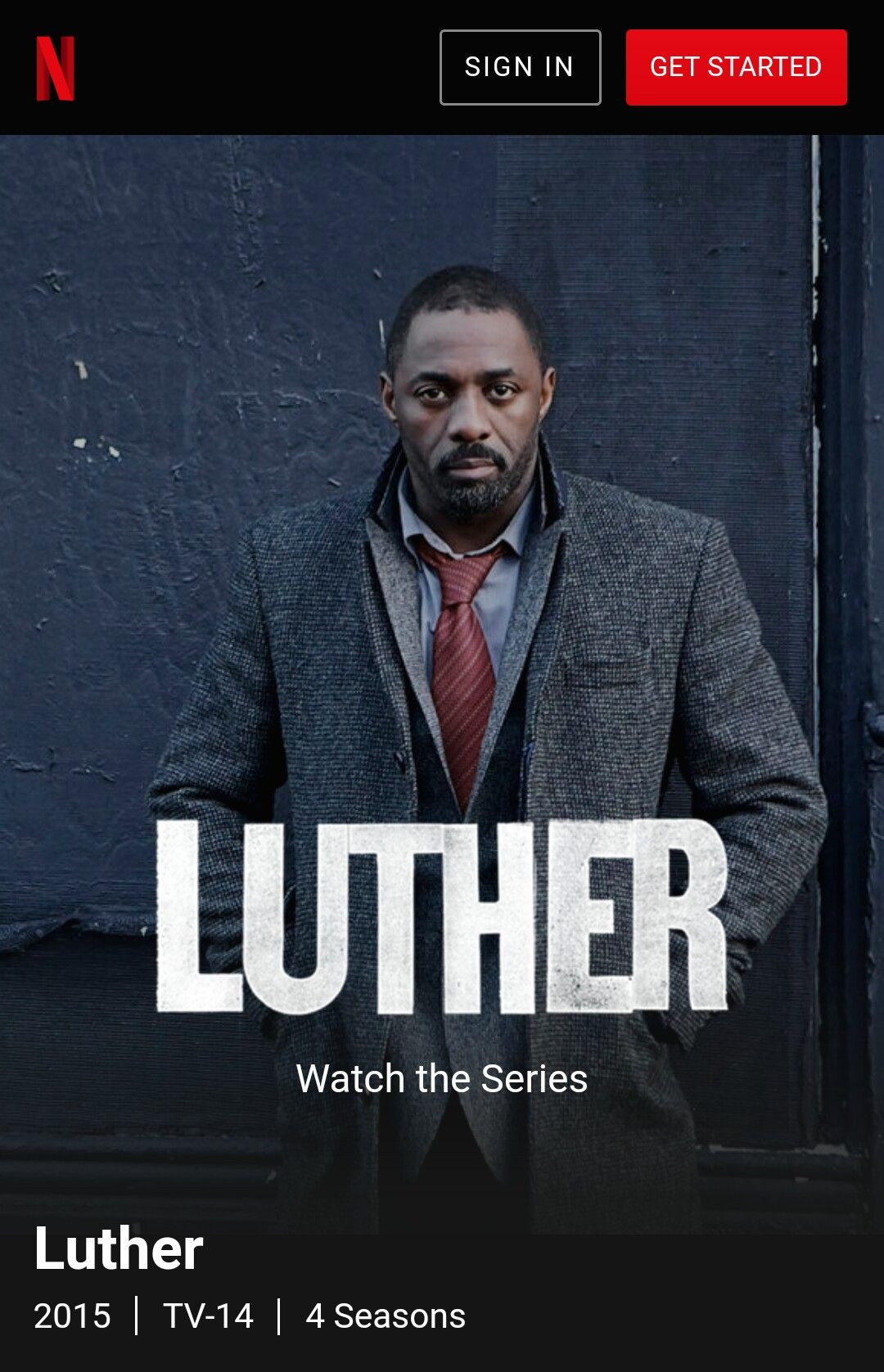 Luther Netflix Luther 2015tv 144 Seasons A Dedicated Urban