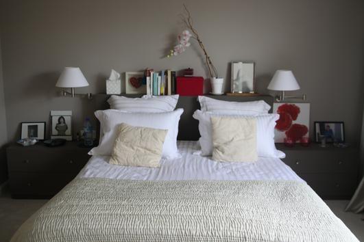 Photo Deco Chambre Blanc Romantique Appartement Romantique Moderne