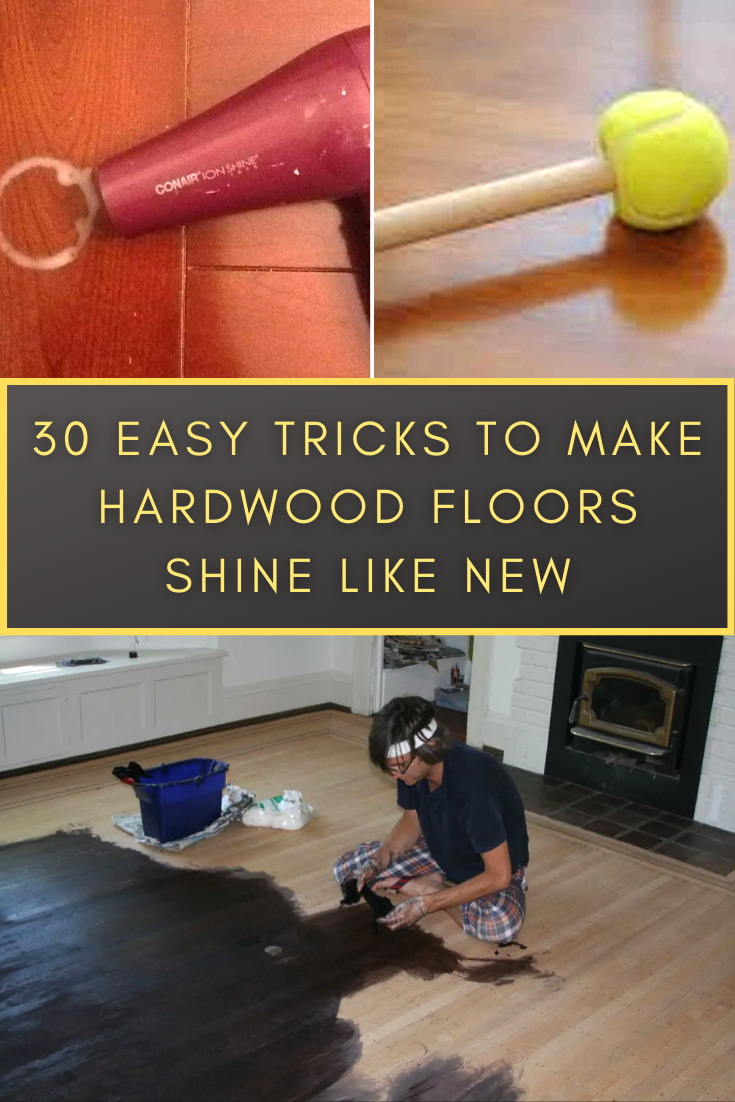 Get Your Hardwood Floors Shinier Than Ever 30 Easy Cleaning Tricks To Make Them Look Like New In 2020 Bizarre Pictures Simple Tricks Kittens Cutest
