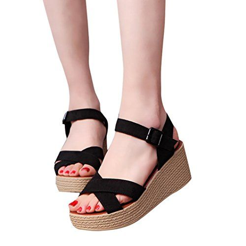 2d36ae32e1d Sikye Fashion Sandals Women Summer Open Toe Hight Platfor... https