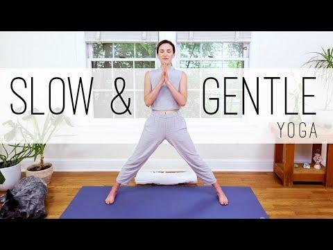 (55) Yoga For Seniors Slow and Gentle Yoga YouTube