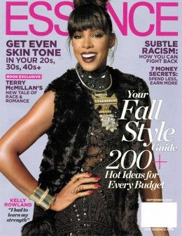 La Marque's L263111 Leather Biker Jacket is featured in this month's Essence Magazine