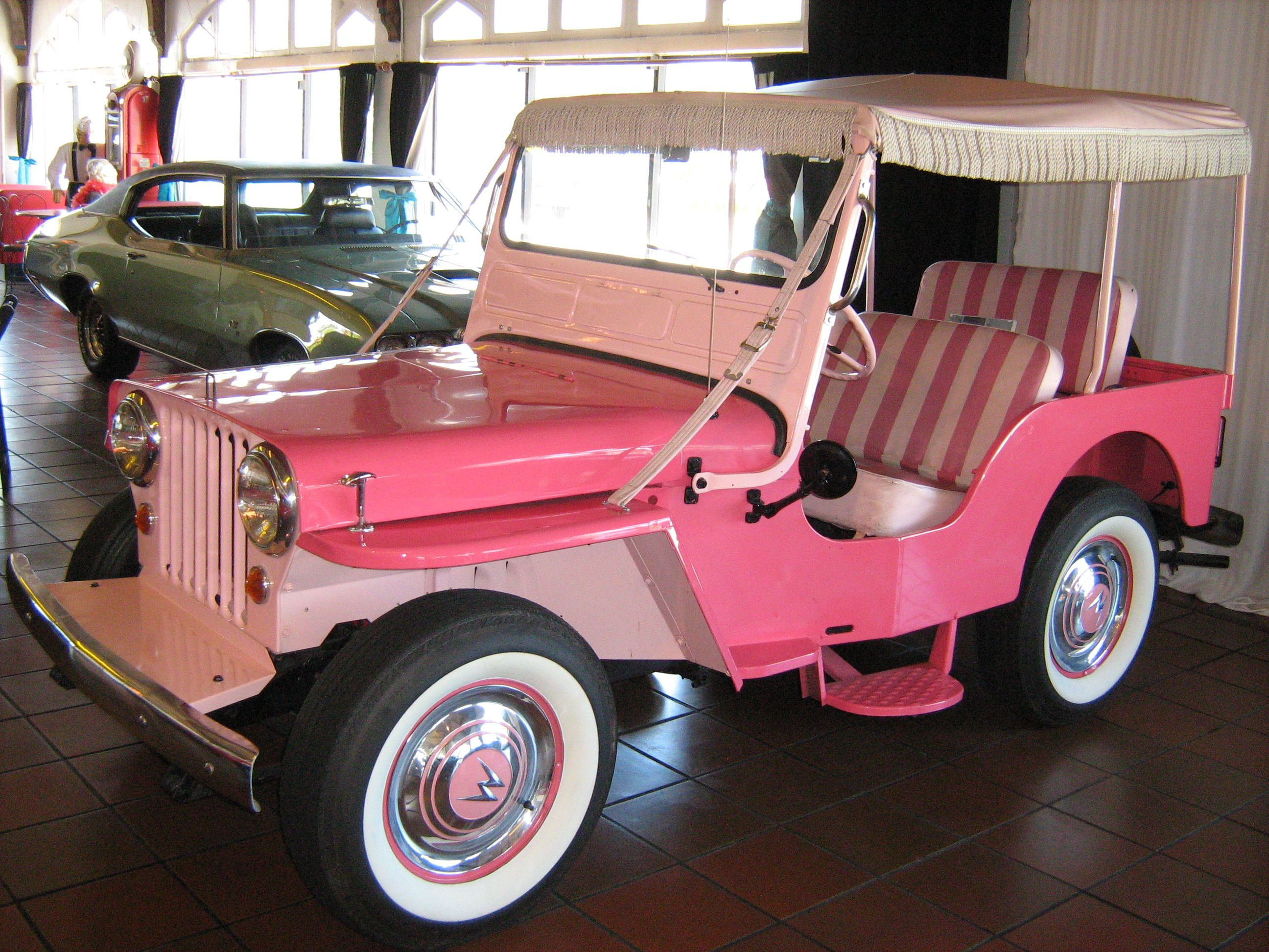 Pink Antique Jeep I Have A Tonka Truck Jeep From The 60 S That