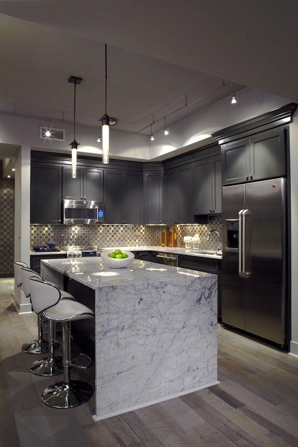 Adoro o layout para um condomínio | Stunning Kitchens | Pinterest ...