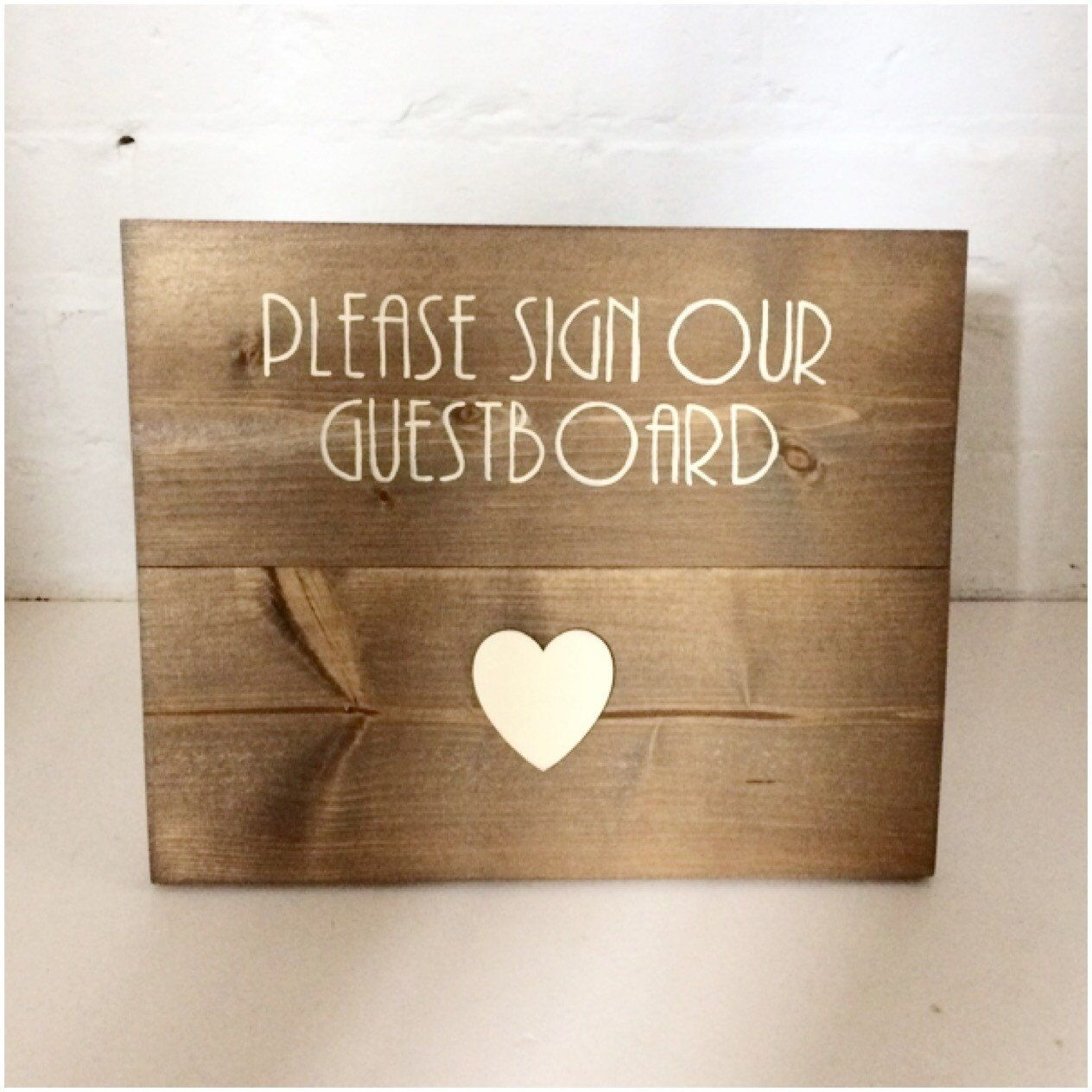 Please Sign Our Guest Book Wedding Wooden Rustic For Ideas