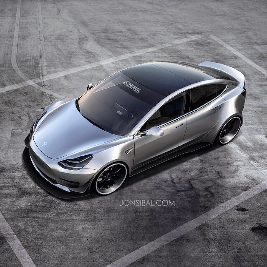How does Tesla Model 3 look totally redesigned? To check out our ...
