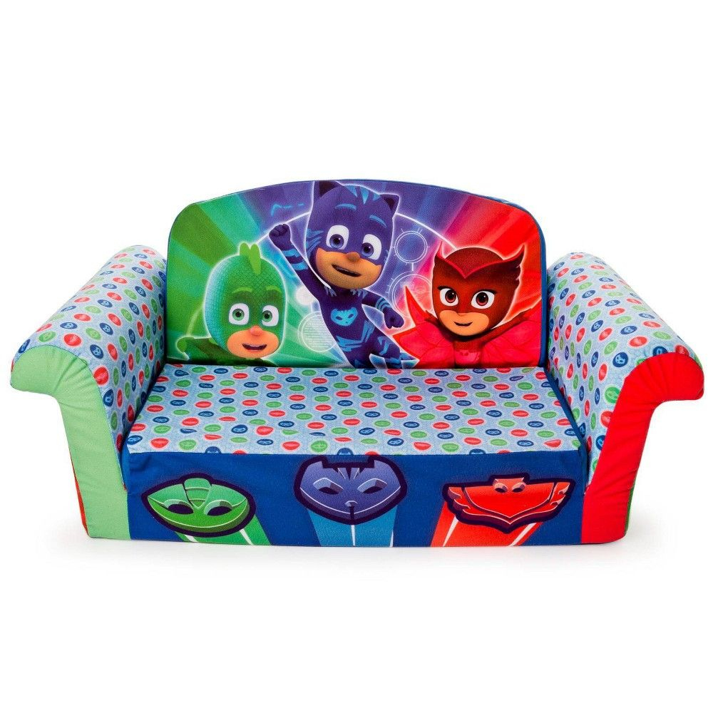 Marshmallow Furniture Children S 2 In 1 Flip Open Foam Sofa Pj