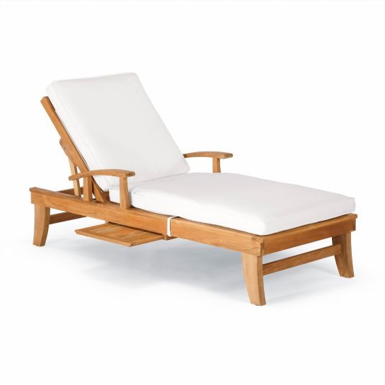 Melbourne Chaise Lounge with Cushions
