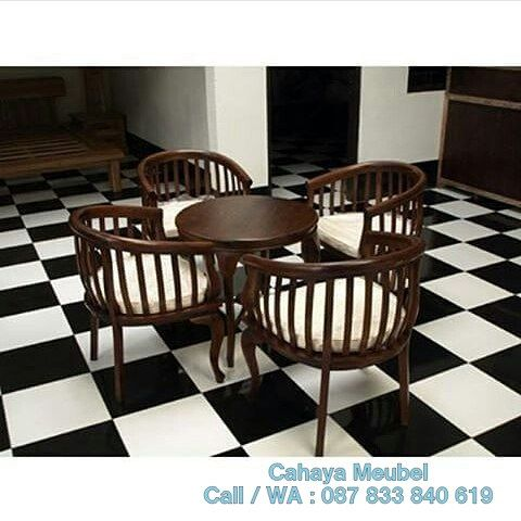 Kursi Teras Betawi Kayu Jati  #KursiTeras Kursi Teras Betawi Kayu Jati #furnitureonlinestore