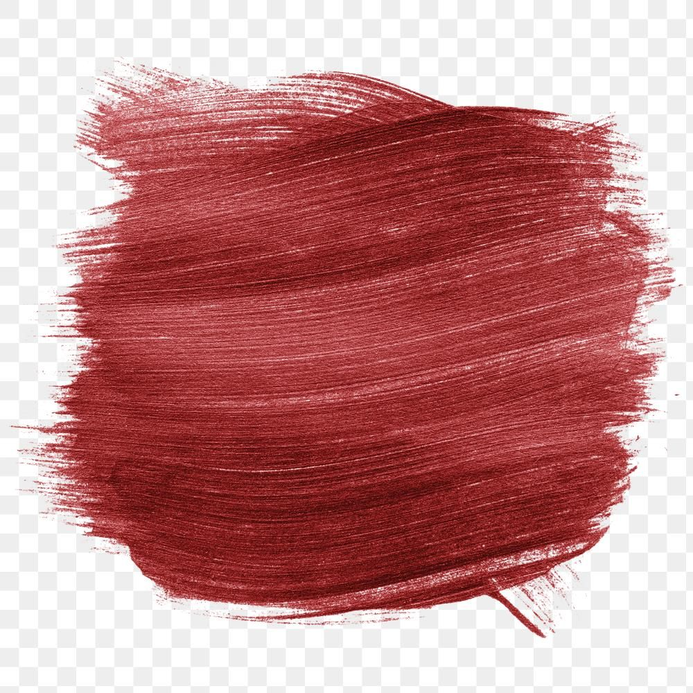 Shimmery Metallic Cerise Red Paint Brush Stroke Texture Free Image By Rawpixel Com Karn Paint Brushes Red Paint Painting