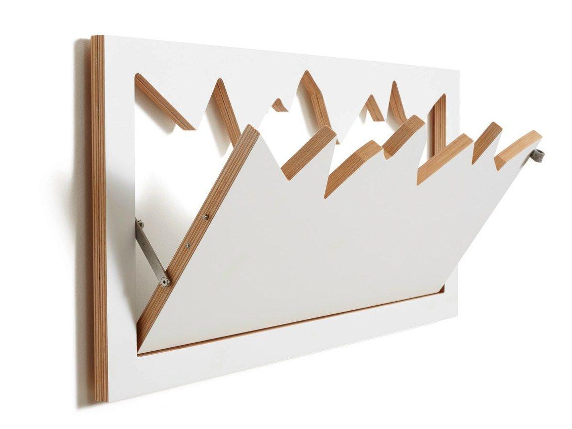 Flapps Hillhang White Mobiliario Pinterest Perchero - Percheros-pared-diseo
