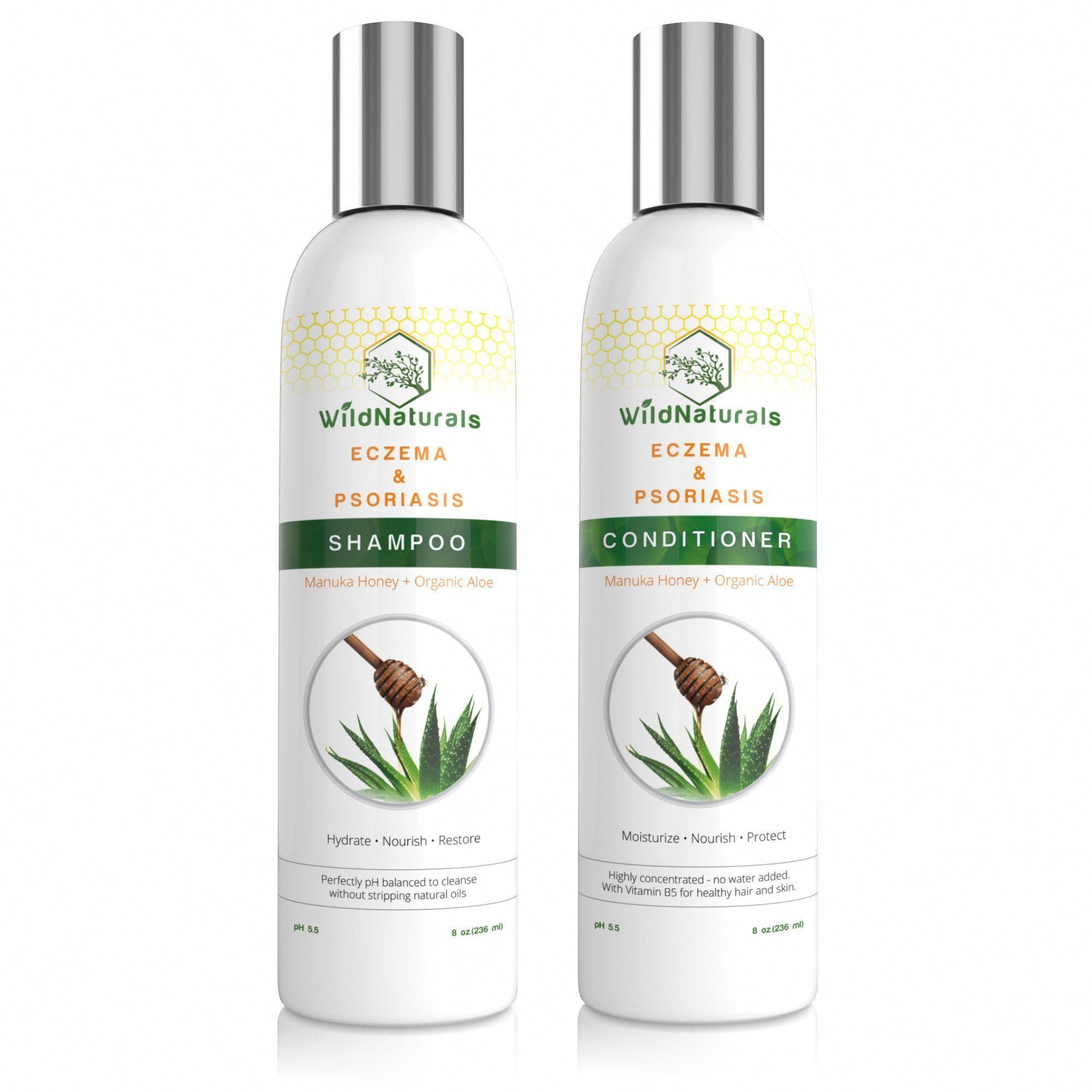 Eczema & Psoriasis Shampoo & Conditioner Set eczemacreams