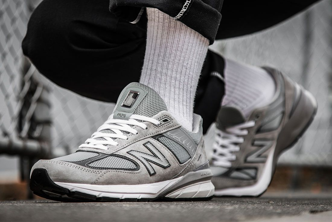 pretty nice ae31a 66cf8 On-Foot Look: The New Balance 990v5 is Here! | NB | Sneakers ...