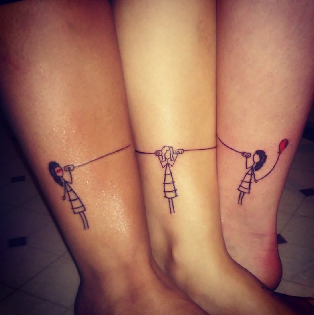 best friend tattoo - congruent: meaning different, yet the same ...