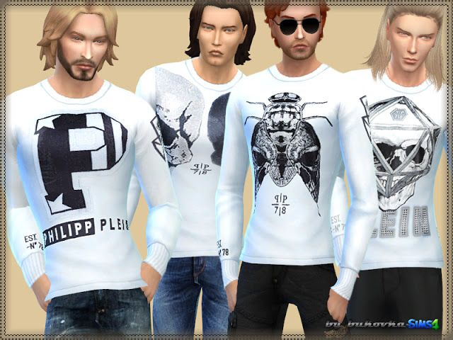 Long Sleeve shirt at Bukovka • Sims 4 Updates