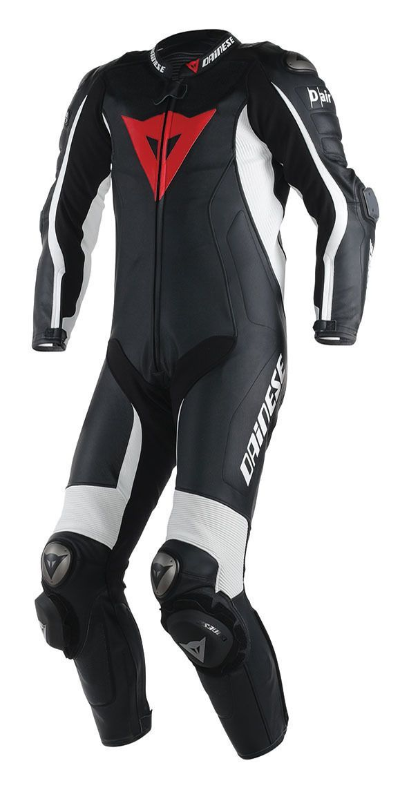 The Dainese D Air Misano racesuit uses the Intelligent Protection System which combines a wireless air bag system with highly evolved microprocessor technolo...