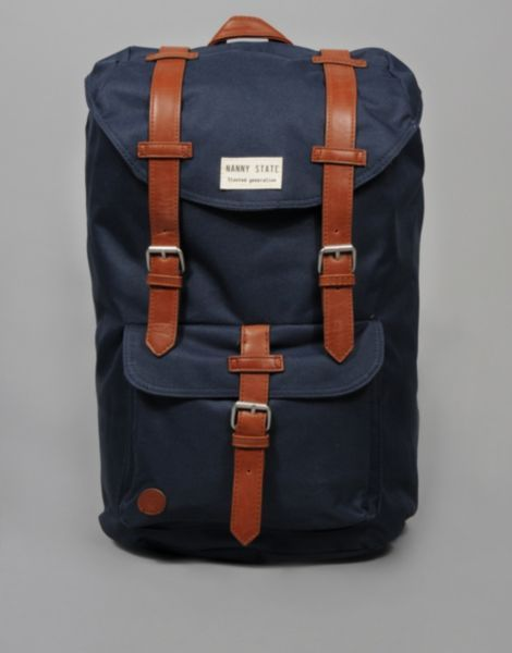 19be1d8187 Nanny State Double Buckle Backpack - BANK Fashion