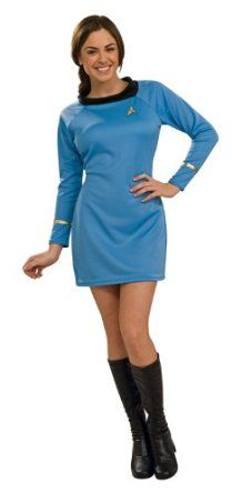 Disfraces para todas las ocasiones RU889060MD Star Trek Blue Dress Classic Medium: Amazon.es: Juguetes y juegos
